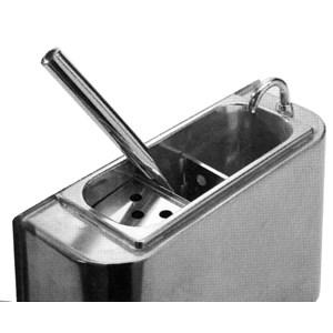 Salon de crème glacée spatule en polycarbonate-dimensions cm 26