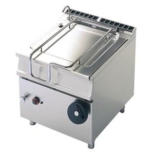 Braisière électrique, basculement manuel- Mod. FN74CSF- Capacité 50 lt - Puissance totale kw 8,6 - Voltage triphase - Dimensions 80 x 70 x h90 cm - Norme CE