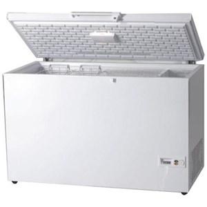 Congélateur coffre - ÉCONOMIE D'ÉNERGIE - CLASSE A+ - Mod. AK/CF - Réfrigération statique - Dégivrage manuel - Thermomètre numérique - TEMPÉRATURE-18ºC o +8/-18 °C (selon le modèle)