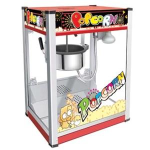 MACHINE DE POP CORN - Mod. PC 6 - N. 1 casserole - Capacité de charge: 110 gr de maïs - Puissance W 1300 - Alimentation monophasé - Dim.50,5 x 37 x h 68 cm - Norme CE