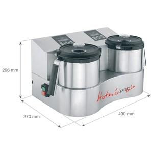 PLOTTER de découpe avec système de cuisson-Mod. HOTMIXPRO GASTRO-multifonctions: mixeur, coupeur, cuisine système-capacité 190 température + 24 ° / 2 mug lt-° C-Puissance W 2300-dimensions cm L x 31,2 x 25,8 P 29, 06:00