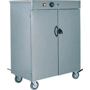 CHAUFFE ASSIETTES - MOD. MS - Structure en acier inox AISI 304 - Thermostat réglable 30°/90°C - N. 1 Niveau intermédiaire - Voltage V230 50/60 Hz