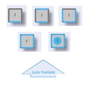 VITRINE RÉFRIGÉRÉE POUR PÂTISSERIE ET GLACE-CRÈME-MOD. 16-TEK/externe structure anodisée en ALUMINIUM-bas-E verre-SINGLE PHASE statique refroidissement-TEMP. ° C -15 / -25-1, 2 verre exposition sur.3 ou 4 côtés-DIM. CM 67 X p 64 X h 188 L