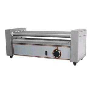 MACHINE CHAUFFE SAUCISSES - Mod. R 5 - 5rouleaux en acier inox - Température +50/+250 °C - Puissance W 430 - Alimentation monophasé - Dim.58 x 22,5 x h 23 cm- Norme CE
