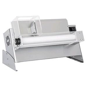 FAÇONNEUSE À PIZZA- LAMINOIR PIZZA - MONOROLEAUX  ET PÉDALE ÉLECTRIQUE- mod. DMA 310/2 - Puissance hp 0,33 -  230 V monophase - Dim.65 x  32 x h41 cm - Poids Kg.22 - Dimensions pizza 14/30 cm - Norme CE