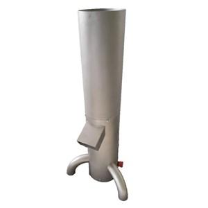 Pain moulin-MOD. GRI131-inox cadre-tamis en acier 3 mm gamme dimensionnelle de single-pas de 1-150 kg/h max.