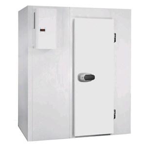 Chambre froide modulaire - Épaisseur panneau  cm  7 - SANS SOL - H 207 - Équipé de n. 1 porte de  cm 80 x h 185 - Moteur exclus