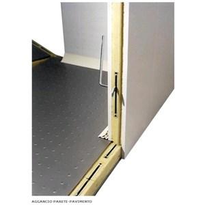 Chambre froide modulaire - Épaisseur panneau  cm 10 - Avec sol - H 300 - Équipé de n. 1 porte de  cm 80 x h 185 - Moteur exclus