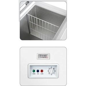 CONGÉLATEUR COFFRE - Mod. AX/CF - Froid statique - Dégivrage manuel - Thermomètre analogique - Température -18º C - Classe énergie A+