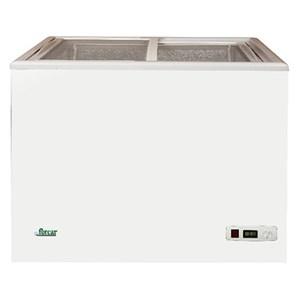 CONGÉLATEUR COFFRE - Mod. G-SD200S - Froid statique - Dégivrage manuel - Température -18ºC - Capacité 195 L - Dimensions externes L 89,5 x P 55 x 81 h cm